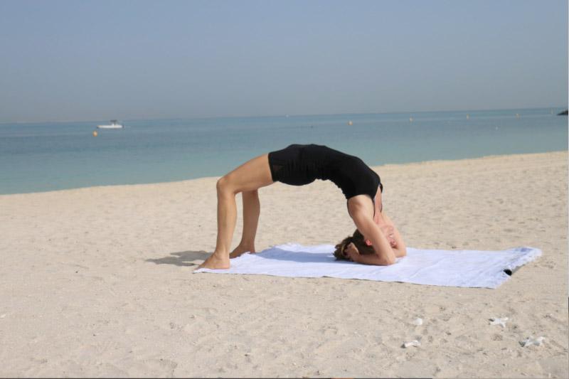 Abu Dhabi Yoga Class